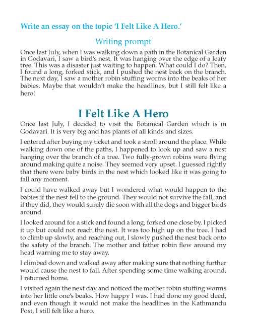 Writing skill - grade 6 - narrative essay (2)