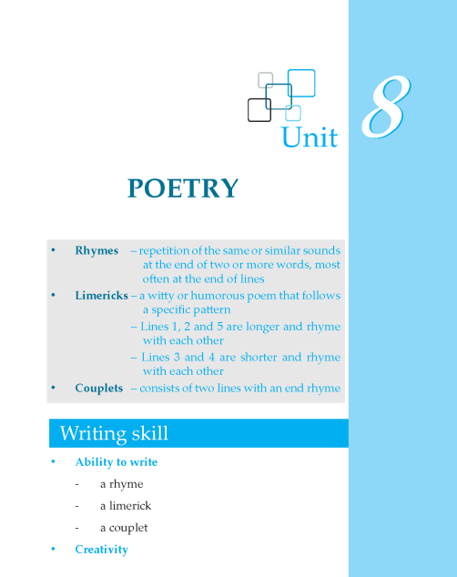 Writing skill - grade 6 - poetry  (1)