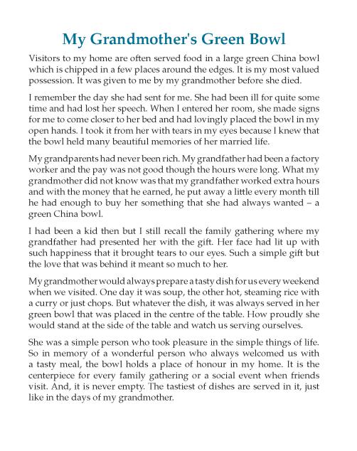 Writing skill - grade 6 - reflective essay  (4)