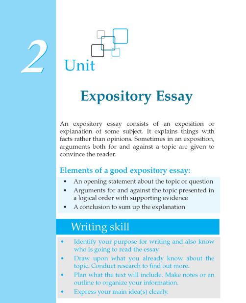 Grade 7 Expository Essay