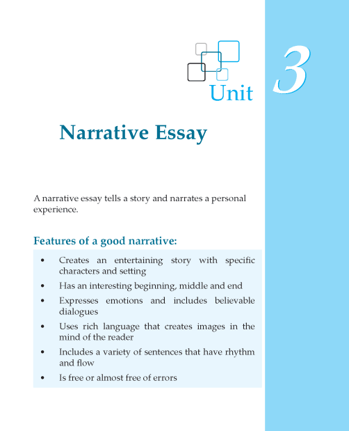Writing skill - grade 7 - narrative essay  (1)