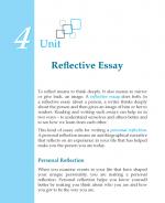 Grade 7 Reflective Essay