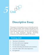 Grade 7 Descriptive Essay