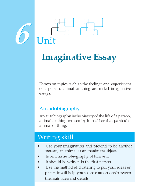 Grade 7 Imaginative Essay