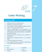 Grade 7 Letter Writing
