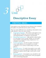 Grade 8 Descriptive Essay