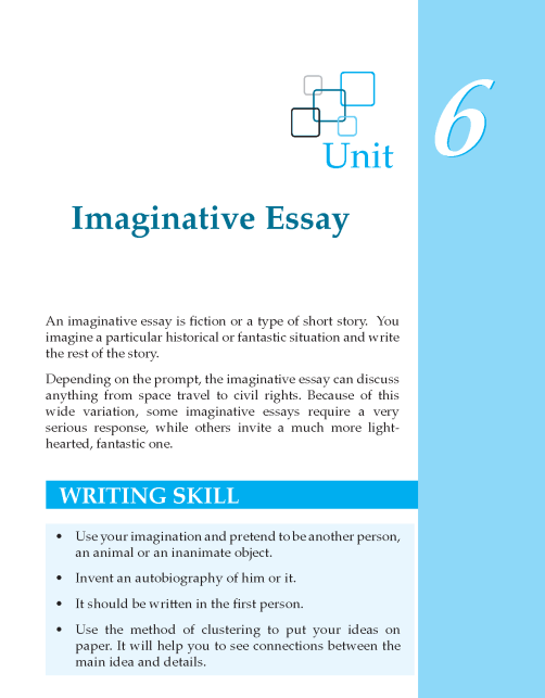 Grade 8 Imaginative Essay