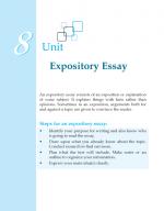 Grade 8 Expository Essay