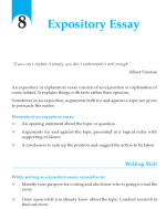 Grade 9 Expository Essay