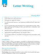 Grade 9 Letter Writing